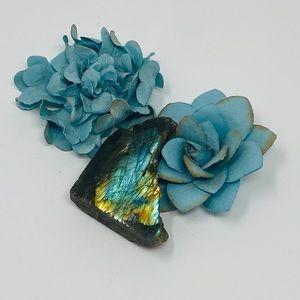 Free form labradorite stone